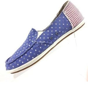 Sanuk Woman's overboard Patriot Loafer